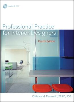 Professional Practice for Interior Designers [With CDROM]