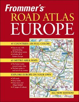 Frommer's Road Atlas Europe