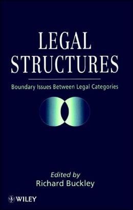 Legal Structures: Boundary Issues Between Legal Categories