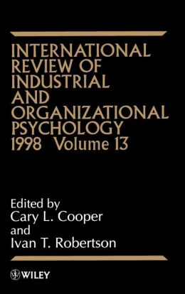 International Review of Industrial and Organizational Psychology, 1998