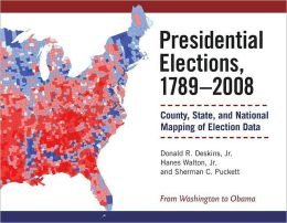 Presidential Elections, 1789-2008: County, State, and National Mapping of Election Data