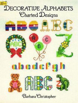 Decorative Alphabets Charted Designs