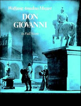 Don Giovanni: in Full Score, Italian and German Text: (Sheet Music)