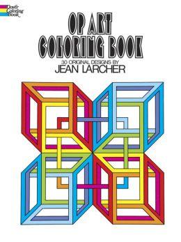 OP Art Coloring Book: 30 Original Designs