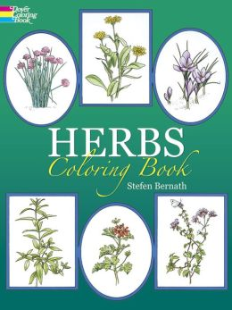 Herbs Coloring Book