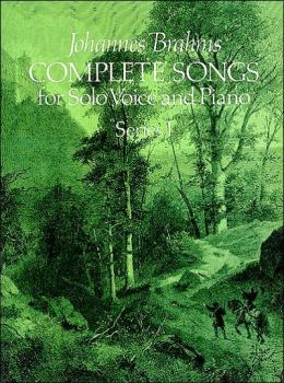 Complete Songs for Solo Voice and Piano, Series 1: (Sheet Music)