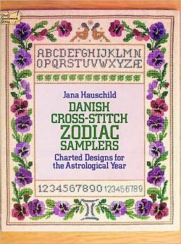 Danish Cross-Stitch Zodiac Samplers