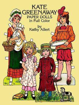 Kate Greenaway Paper Dolls In Full Color