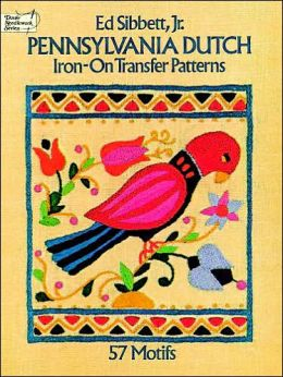 Pennsylvania Dutch Iron-on Transfer Patterns