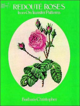Redoute Roses Iron-on Transfer Patterns