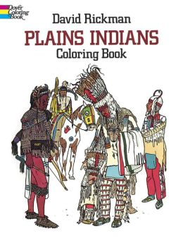 Plains Indians-Coloring Book