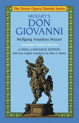 Mozart's Don Giovanni (the Dover Opera Libretto Series)