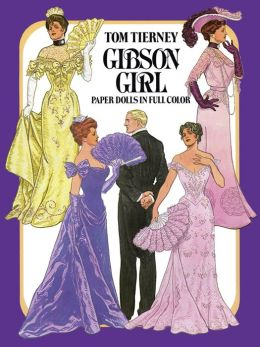 Gibson Girls Paper Dolls in Full Color