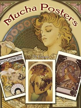 Mucha Posters Postcards: 24 Ready-to-Mail Cards