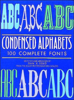 Condensed Alphabets