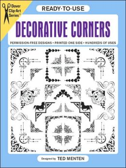 Ready-to-Use Decorative Corners