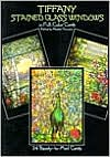 Tiffany Stained Glass Postcard Book