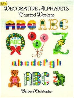 Decorative Alphabets Charted Design