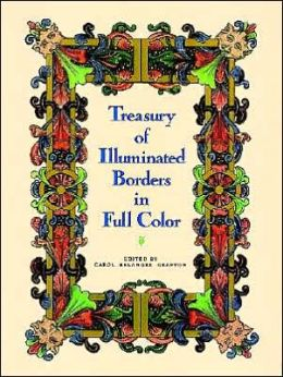 Treasury of Illuminated Borders in Full Color
