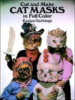 Cut and Make Cat Masks in Full Color