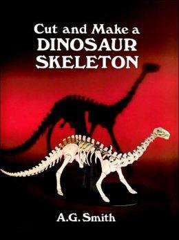 Cut and Make a Dinosaur Skeleton
