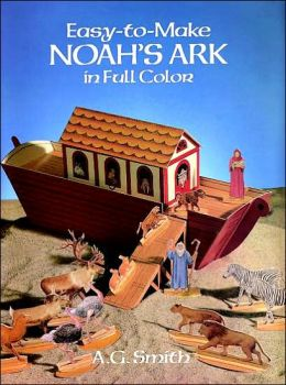 Easy-to-Make Noah's Ark in Full Color