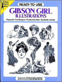 Ready-To-Use Gibson Girl Illustrations
