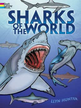 Sharks of the World-Color Book