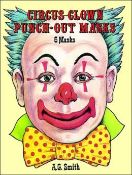 Circus Clown Punch-Out Masks