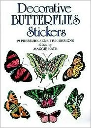 Decorative Butterflies: 29 Pressure-Sensitive Designs