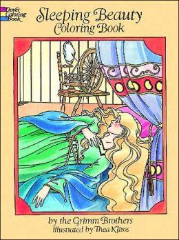 Sleeping Beauty Coloring Book