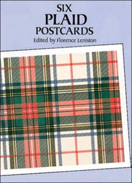 Six Plaid Postcards