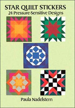 Star Quilt-Stickers: 25 Sensitive Designs