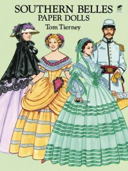 Southern Belles Paper Dolls in Full Color