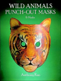 Wild Animals Punch-Out Masks: 6 Masks