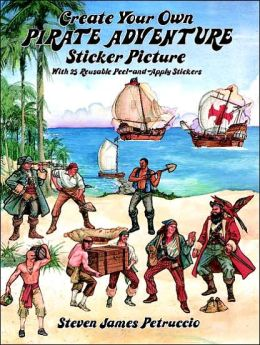 Create Your Own Pirate Adventure Sticker Picture