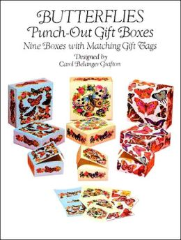 Butterflies Punch-Out Gift Boxes: Nine Boxes with Matching Gift Tags