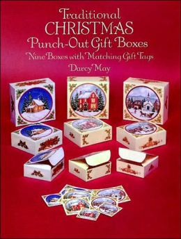 Traditional Christmas Punch-Out Gift Boxes: Nine Boxes with Matching Gift Tags