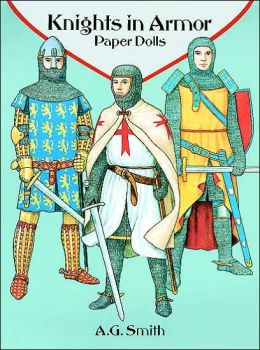 Knights in Armor Paper Dolls