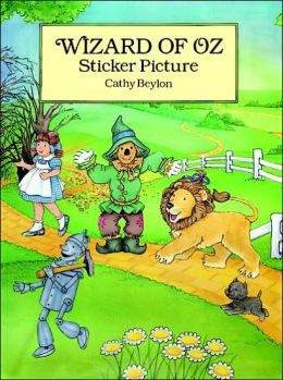 Wizard of Oz Sticker Picture: With 27 Reusable Peel-and-Apply Stickers
