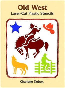 Old West Laser-Cut Plastic Stencils