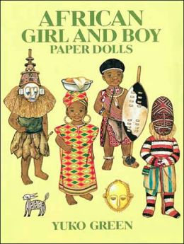 African Girl and Boy Paper Dolls
