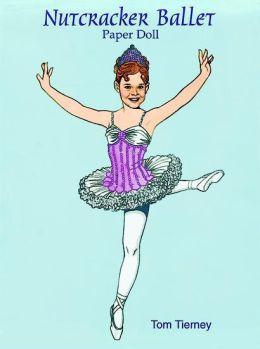 Nutcracker Ballet Paper Dolls