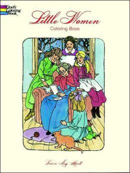 Little Women: A Coloring Book
