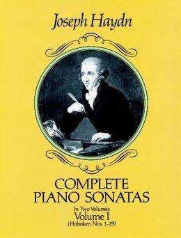 Complete Piano Sonatas, Volume I