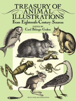 Treasury of Animal Illustrations: From Eighteenth-Century Sources