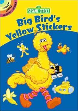 Sesame Street Big Bird's Yellow Stickers