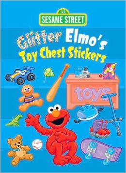 Sesame Street Glitter Elmo's Toy Chest Stickers