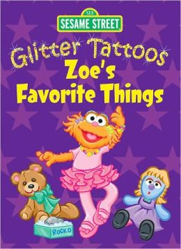 Sesame Street Glitter Tattoos Zoe's Favorite Things