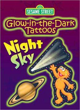 Glow-in-the-Dark Tattoos Night Sky
